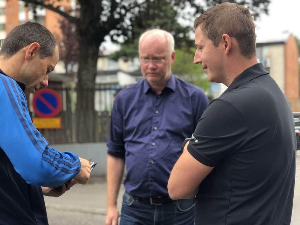 Andrejs, Lars & Sergey