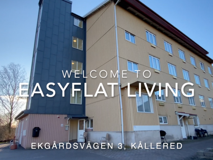 Eight corporate apartments in Kållered outside of Gothenburg – video
