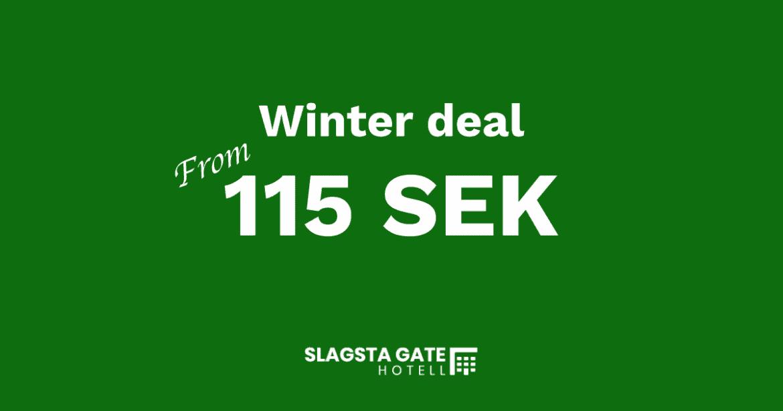 Winter deal Slagsta Gate Hotell